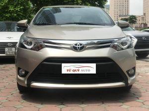 Xe Toyota Vios G 1.5AT 2016 - Vàng cát