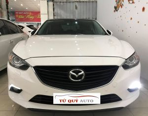 Xe Mazda 6 Sedan 2.0AT 2015 - Trắng