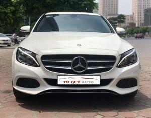 Xe Mercedes Benz C200 2.0AT 2016 - Trắng