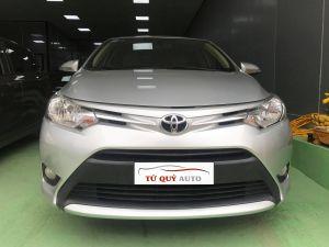 Xe Toyota Vios E 1.5AT 2017 - Bạc