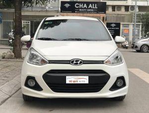 Xe Hyundai i10 Hatchback 1.0AT 2015 - Trắng