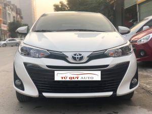 Xe Toyota Vios 1.5G 2018 ĐK 2019 - Trắng