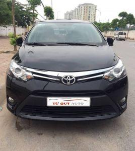 Xe Toyota Vios 1.5G 2017 - Đen