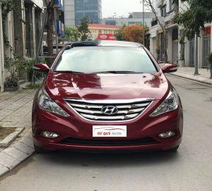 Xe Hyundai Sonata 2.0AT 2010 ĐK 2011 - Đỏ
