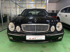 Xe Mercedes Benz E class E240 2.6AT 2002 - Đen