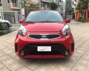 Xe Kia Morning Si 1.25AT 2015 - Đỏ