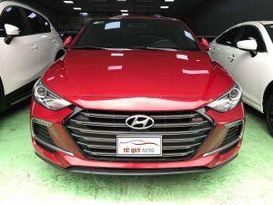 Xe Hyundai Elantra 1.6Turbo 2018 - Đỏ