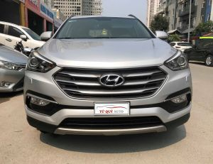 Xe Hyundai Santa Fe CRDi 2.2AT 2017 - Bạc
