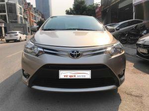 Xe Toyota Vios E 1.5AT 2017 - Vàng cát