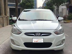 Xe Hyundai Accent 1.4 AT 2012 - Trắng