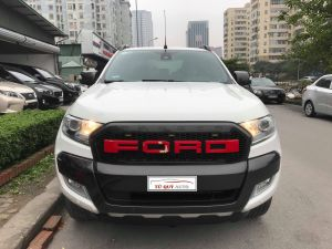 Xe Ford Ranger Wildtrak 3.2AT 2016 - Trắng