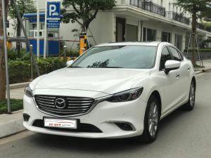 Xe Mazda 6 2.0AT 2018 - Trắng