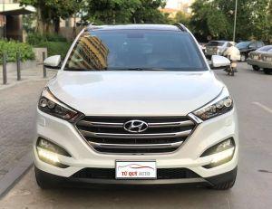 Xe Hyundai Tucson 2.0AT 2015 - Trắng Camay
