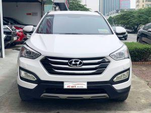Xe Hyundai Santa Fe 2.4AT 2014 - Trắng