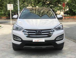 Xe Hyundai Santa Fe 2.2AT CRDi 2015 - Trắng