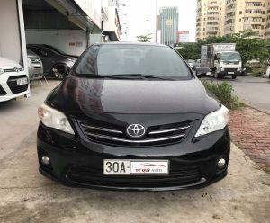 Xe Toyota Corolla altis 1.8G 2013 - Đen