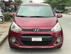 Xe Hyundai i10 1.0AT 2014 - Đỏ