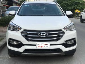 Xe Hyundai Santa Fe CRDi 2.2L 2017 - Trắng
