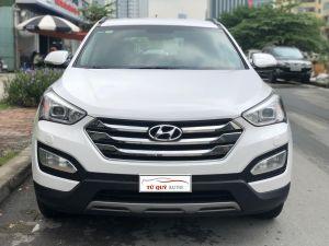 Xe Hyundai Santa Fe 2.4AT 2015 - Trắng