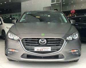 Xe Mazda 3 Sedan 1.5 AT 2017 - Đen Dán Decal Ghi Xám