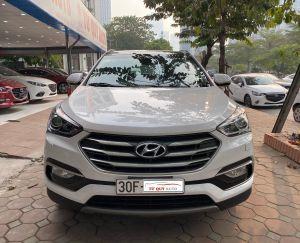 Xe Hyundai Santa Fe 2.2CRDi 2018 - Trắng