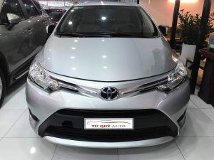Xe Toyota Vios E 1.5MT 2017 - Bạc