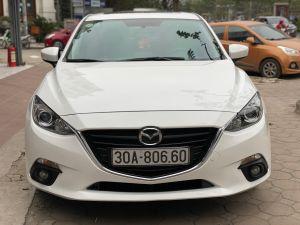 Xe Mazda 3 1.5 AT 2015 - Trắng