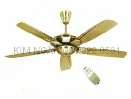 quạt trần điện cơ 5 cánh có điều khiển