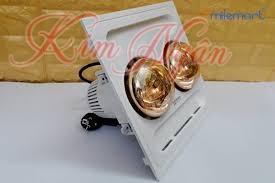 Đèn sưởi nhà tắm Kottmann 2 bóng âm trần điều khiển dây K9S