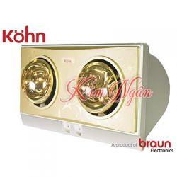 ĐÈN SƯỞI NHÀ TẮM KOHN-BRAUN KP02G