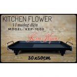 VỈ NƯỚNG ĐIỆN HÀN QUỐC KITCHEN FLOWER KEP-1000
