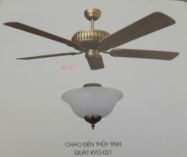 QUẠT TRẦN KAIYO KYO-021 (Có đèn)