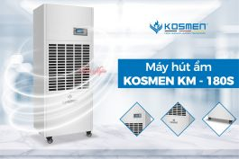 Máy hút ẩm công nghiệp KOSMEN KM 180S