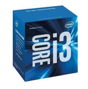 CPU Intel Core i3-6100 3.7 GHz / 3MB / 2 Cores, 4 Threads / Socket 1151 (Skylake)