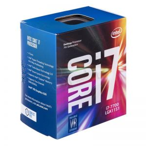 CPU Intel Core i7-7700 3.6 GHz / 8MB / 4 Cores, 8 Threads/ Socket 1151 (Kabylake)