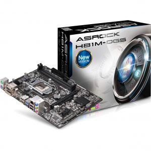 Mainboard Asrock H81M-DGS (Chipset Intel H81/ Socket LGA1150/ VGA onboard)