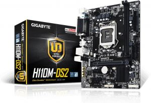 Mainboard Gigabyte H110M-DS2 (Chipset Intel H110/ Socket LGA1151)