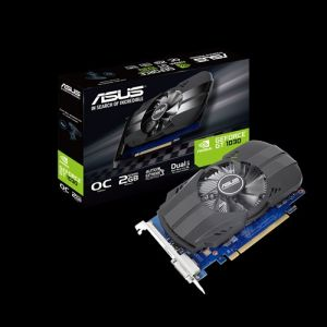 VGA Asus PH-GT1030-O2G (NVIDIA Geforce/ 2Gb/ DDR5/ 64 Bits)