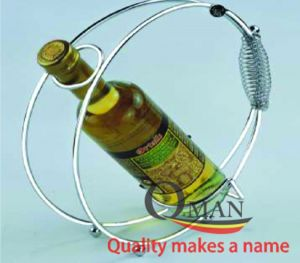 Giá đựng chai rượu xoắn inox
