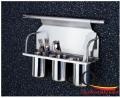 Giá treo 3 ống đũa inox ngoài tủ bếp GS601C-1