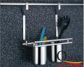 Giá treo 2 ống đũa inox ngoài tủ bếp GS624B