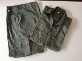 Quần áo BHLĐ màu rêu , túi hộp, kaki NĐ