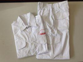 Quần áo BHLĐ túi hộp, chun sườn, vải liên doanh HQ