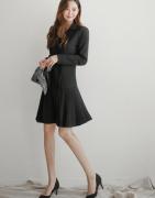 Váy liền thân Berry Hàn Quốc 41021