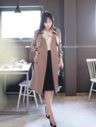 Áo choàng, khoác Fiona Hàn Quốc 111002
