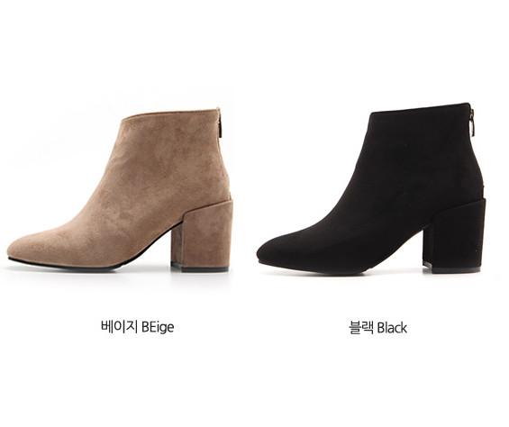 Boots cổ thấp Sovo Hàn Quốc 101069