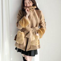 Áo khoác nữ Dahong Hàn Quốc 221077