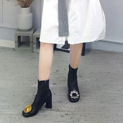 Boots cổ thấp Sovo Hàn Quốc 021172