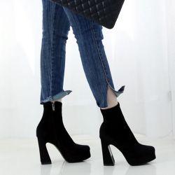 Boots cổ thấp Sovo Hàn Quốc 021174