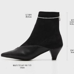 Boots cổ thấp Sovo Hàn Quốc 021179